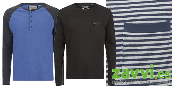 promocion 2x1 en camisetas de manga larga de calidad zavvi mayo 2016