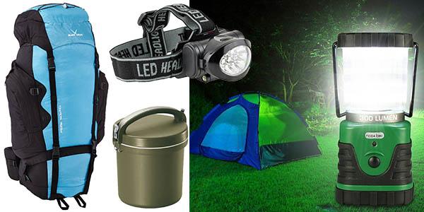 promocion senderismo y acampada a precios bajos en amazon