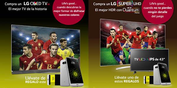 Promoción televisores LG OLED Y Super UHD