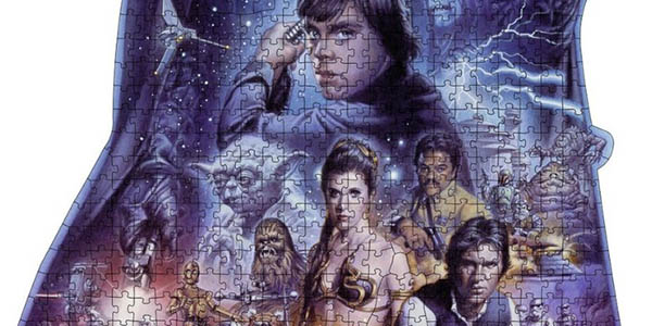 puzzle ravensburger star wars personajes saga