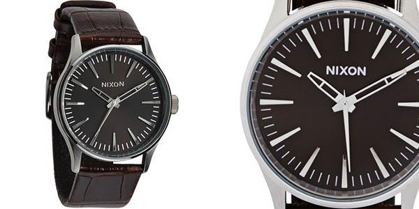 Reloj para hombre Nixon Sentry 38 Leather