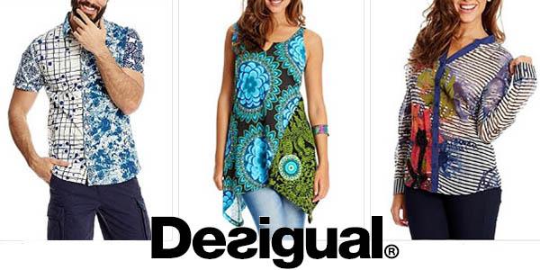 ropa desigual para mujer y hombre ofertas