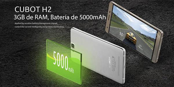 Smartphone Cubiot H2 con 5.000 mAh