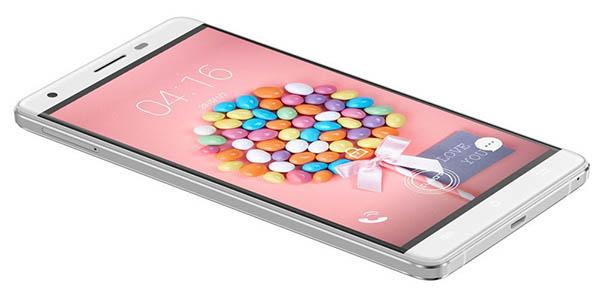 Diseño smartphone Cubot H2
