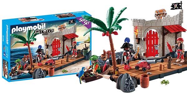 Superset fortaleza pirata de Playmobil