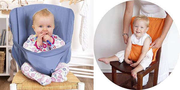 trona portatil para bebes funcional para todo tipo de sillas barata