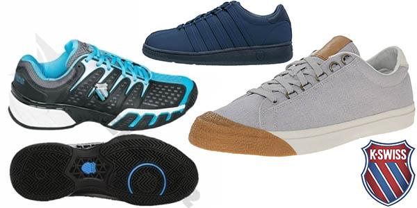 zapatillas k-swiss casual y de tenis baratas