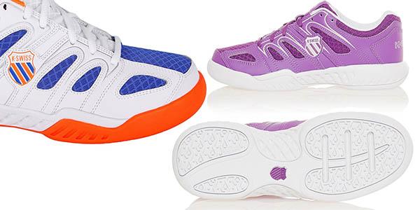 zapatillas de padel y tenis k-swiss calabasas mesh en todas las tallas a precio-brutal