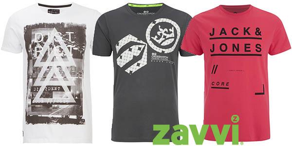 2 camisetas de marca por 20€ Zavvi junio 2016
