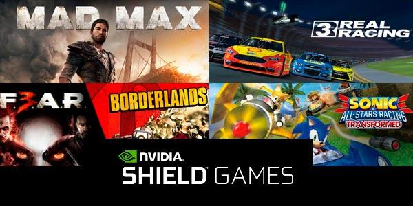 Nvidia Shield juegos