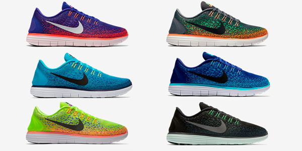 Zapatillas Nike Running Free RN Distance Colores