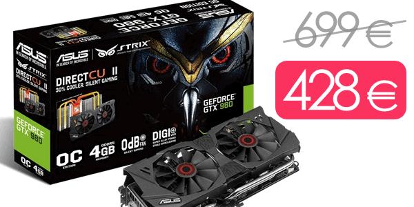 Asus GeForce Strix GTX 980 OC barata