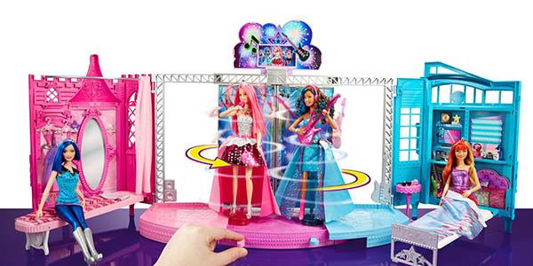 barbie mattel juguete de mesa casa muñecas pelicula El campamento de princesas