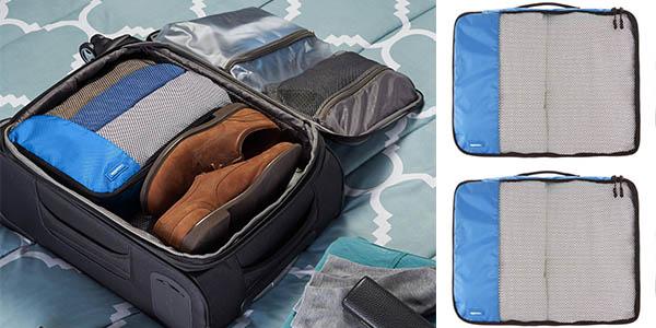 bolsas resistentes para guardar ropa ordenada en viajes