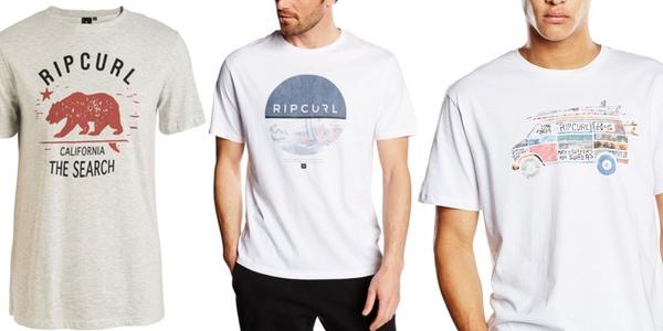 Camisetas Rip Curl baratas en Amazon
