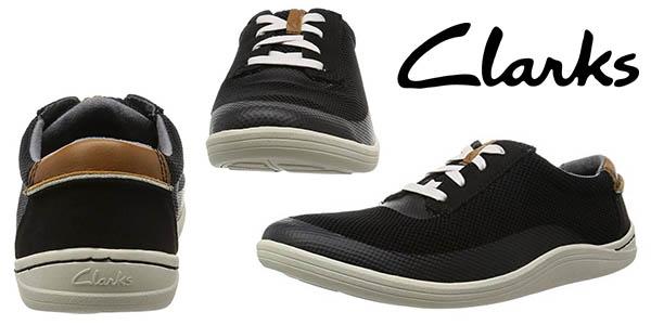 Clarks Mapped Edge Oxford zapatillas casual para hombre baratas