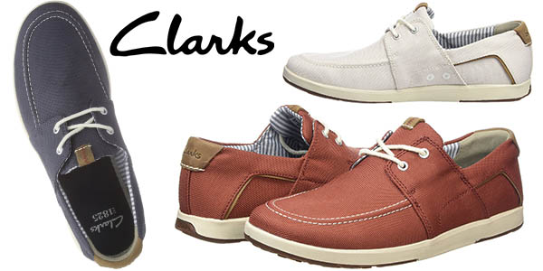 clarks norwin go zapatos verano hombre baratos