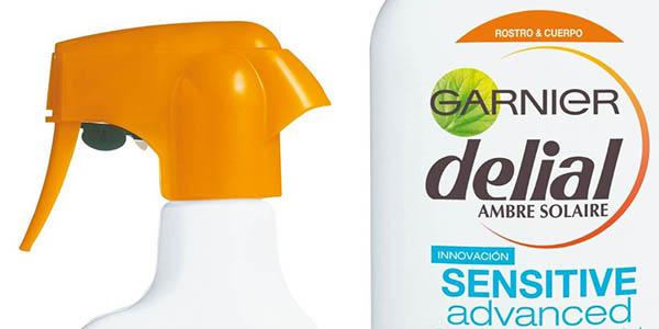 crema solar garnier delial factor 50 spray precio brutal