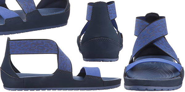 crocs anna zapatos de verano flexibles suela blanda