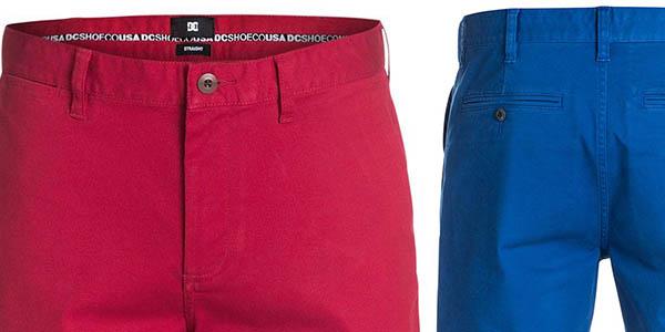 dc shoes worker pantalones cortos cómodos relación calidad-precio espectacular