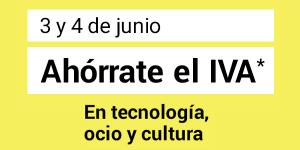 Día sin IVA FNAC Junio 2016