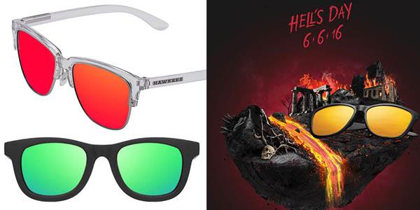 gafas de sol Hawkers hell's day 6 junio 2016