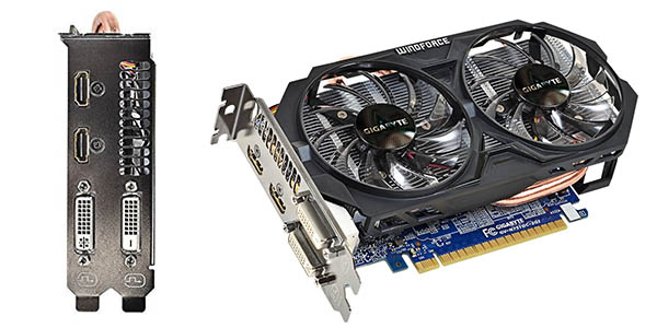 Gráfica Gigabyte GeForce GTX 750 Ti OC Windforce 2GB barata