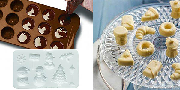 hacer bombones y galletas con molde rapido y facil