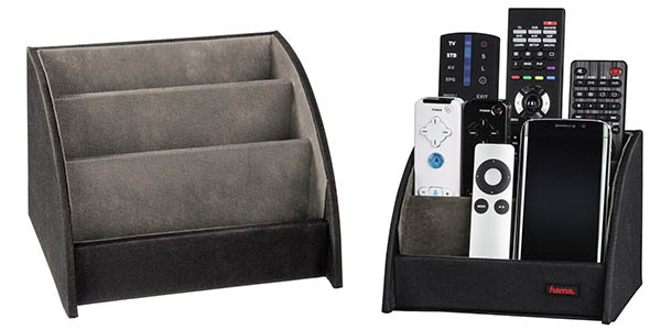 hama funcional organizador mandos aparatos electronicos y cargadores barato