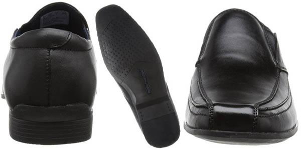 hush puppies moderna slip on zapatos color negro para vestir hombre