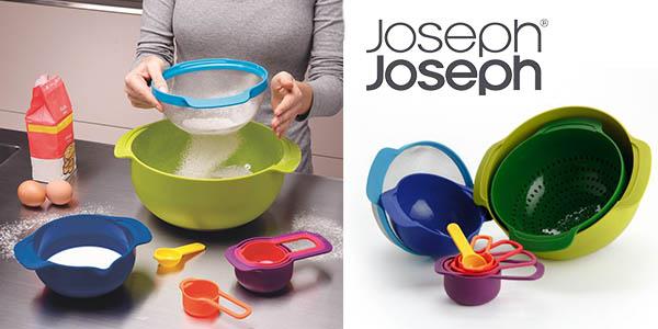 joseph & joseph nest 9 plus conjunto recipientes apilables barato