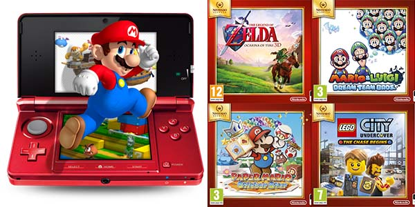 Juegos Nintendo Selects Nintendo 3DS