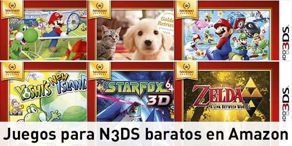 Juegos Nintendo 3DS rebajados