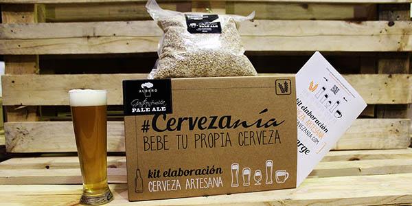 kit cerveza artesana pale ale proceso sencillo