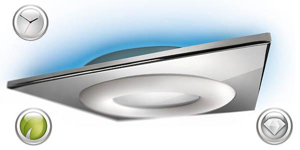 lampara clase energetica a efectos de luz colores philips ecomoods para comedor salon