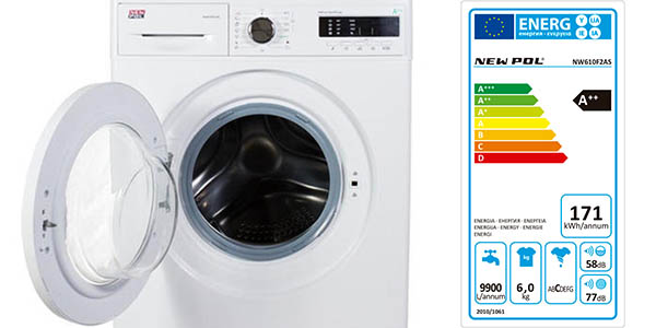 Oferta lavadora NEW POL NW610F2AS