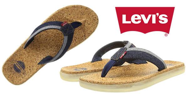Levi's Amador sandalias tejanas de tira baratas