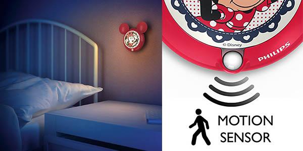 luminaria de bajo consumo para niños Philips Disney con forma de Minnie Mouse