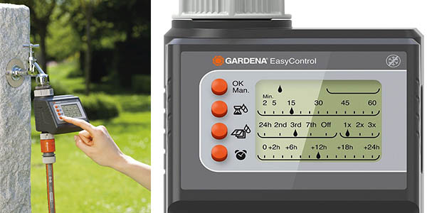 maquina para programar riego domestico gardena easy control