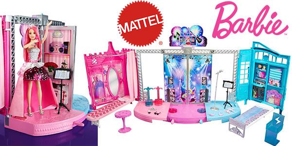 mattel barbie escenario 2 en 1 princesas barato