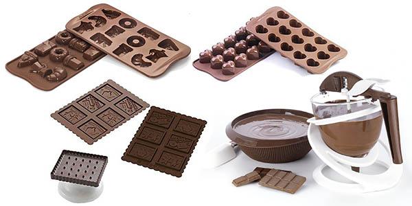 moldes de silicona para galletas y bombones baratos
