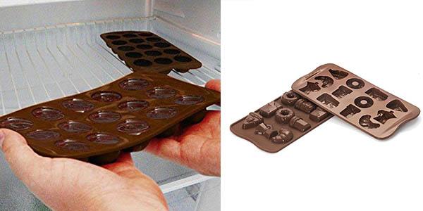moldes de silicona para reporteria casera con diseños divertidos