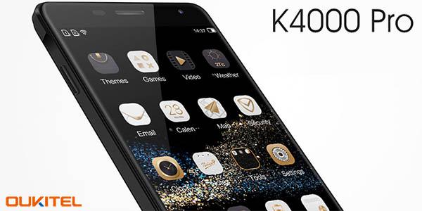 Smartphone OUKITEL K4000 Pro 4G