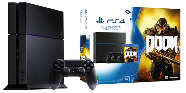 Pack PS4 1TB + DOOM