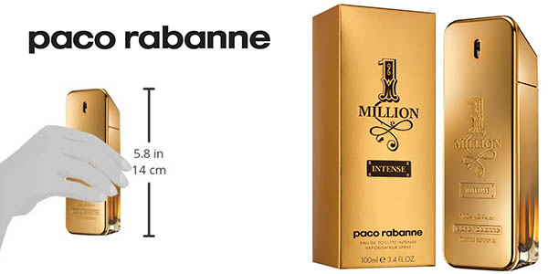 paco rabanne one million intense 100 ml vaporizador barata