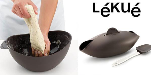 Panera para pan casero Lekue + cuchara oferta en Amazon