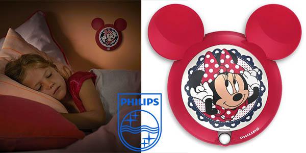 philips lampara infantil minnie mouse con sensor movimiento barata