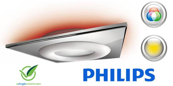 philips my living plafon de techo temper con luz de colores barato