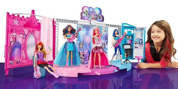 playset barbie in Rock 'N Royals desmontable a precio brutal