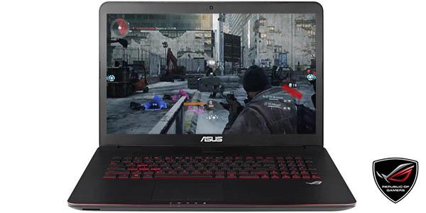 Portátil gaming Asus G771JW-T7048H